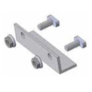 DPW Solar P6-SPK-DPAC20 Splice Plate for P6 Two Hole, Aluminum