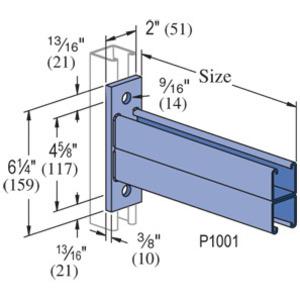 Unistrut P2543-HG | Unistrut P2543-HG Bracket | Rexel USA