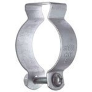 "Superstrut 6H1-B Conduit Hanger with Bolt, Diameter: 3/4"", Steel"