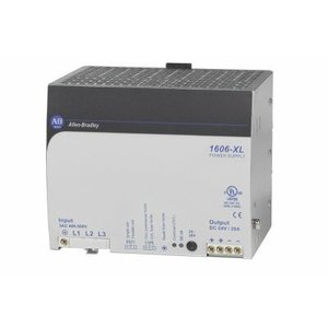 Allen-Bradley 1606-XL480E-3W Power Supply, Switched Mode, 480W Output, 24-28 Output Voltage, 3P