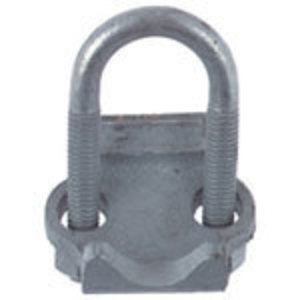 "Steel City RC-1-1/4 Conduit Clamp, 1-1/4"", Right Angle, Malleable Iron"