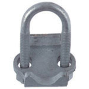 "Steel City RCS-3/4 Conduit Clamp, 3/4"", Right Angle, Steel"