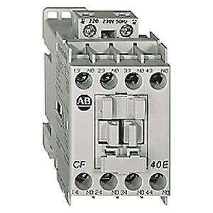 Allen-Bradley 700-CF220D Relay, Industrial, IEC, 4P, NO/NC, 120VAC Coil