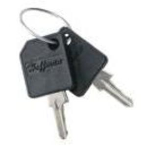 Hoffman E2233KEY Replacement Keys, Key Code: 2233, Set of 2, Metallic/Plastic
