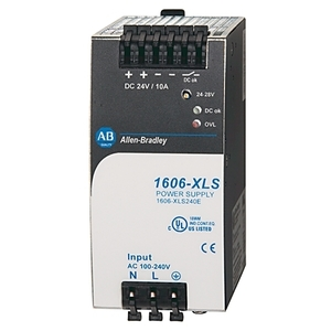 Allen-Bradley 1606-XLS240E Power Supply, Performance, 240W, 24 - 28VDC, 1-Phase