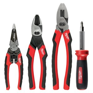 Milwaukee 48-22-3094 4-Piece Hand Tools Set