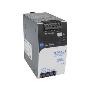 Allen-Bradley 1606-XLS480E-3 Power Supply, Switched Mode, 480W Output, 24-28 Output Voltage, 3P