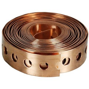 "Dottie CU25 3/4"" x 25' Plumber's Tape, 23 Gauge Solid Copper"