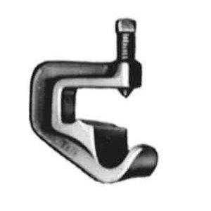 "Thomas & Betts 691-TB Beam Clamp, Adjustable, 3/4"", Malleable Iron"