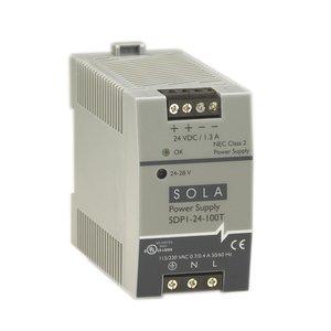 Sola Hevi-Duty SDP1-24-100T 30w 24v Din Plastic 115/230vin