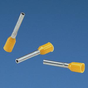 "Panduit FSD78-10-D Insulated Ferrule, 16 AWG, Black, 17/32"" Wire Strip Length"