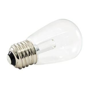 American Lighting PS14-E26-WW 1.4 Watt LED S14 Lamp, Clear, 2700K, 120V, Medium Base