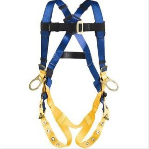 Werner Ladder H332002 Positioning (3 D Rings) Harness, Medium/Large