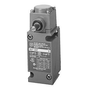 Allen-Bradley 802T-NPTP Limit Switch, NEMA 4/13, Plug-In, Lever Type, Spring Return