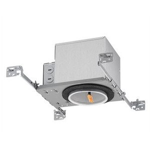 "Juno Lighting IC1ALED-G4-06LM-120-FRPC 4"" LED, Recessed, Adjustable, IC 600 Lumen"