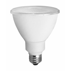 TCP LED14P30D30KFL Dimmable LED Lamp, PAR30, 14W, 120V, FL40
