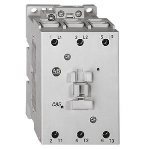 Allen-Bradley 100-C85D00 Contactor, IEC, 85A, 3P, 120VAC Coil, No Auxiliary Contacts