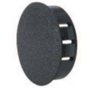 """Heyco 2663 Knockout Seal, Type: Dome Plug, Diameter: 0.625"""", Non-Metallic, Black"""