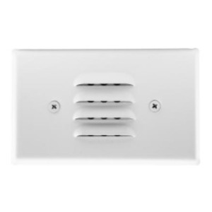 Elco Lighting ELST65W LED Mini Step LIght with Louvered Faceplate
