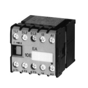 GE MC1I310ATD Contactor, Miniature, 9.0A, 3P, 24VDC Coil, 600VAC Rated, 1NO, PLC