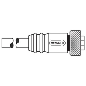 Remke Industries 104A0200AP RMK 104A0200AP PVC MINI-LINK TM