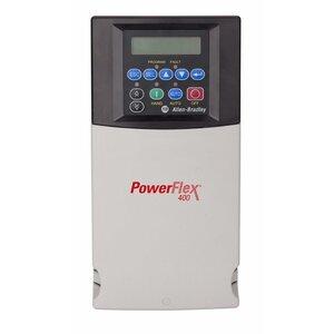 Allen-Bradley 22C-D030N103 Drive, PowerFlex 400, 480VAC, 3PH, 30A, 15KW, 20HP, IP20