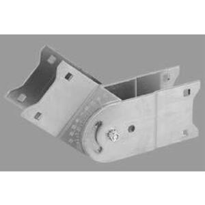 "Thomas & Betts ABW4VSP Vertical Adjustable Splice Plate, 4"" High, Aluminum"