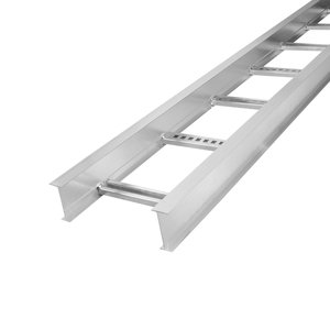 """Thomas & Betts AH1436L09144 Cable Tray, Ladder Type, 4"""" High, 36"""" Wide, 9"""" Spacing, 12' Long"""