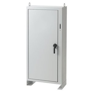 Hoffman A60XN5312FSLP Free-Stand Disconnect Enclosures, Type 1, are an economical way to protect electrical and electronic equipment in applications that do not require extensive environmental protection.