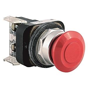 Allen-Bradley 800T-FX6 Push Button, Push-Pull, Red, 30mm, Operator Only, NEMA 4/13