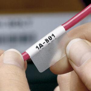 "Panduit S100X125VAC Self-Laminating Label Cassettes, 1 x 1-1/4"""