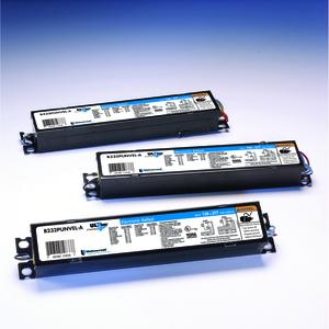 Universal Lighting Technologies B232IUNVHP-N000I Electronic Ballast, Fluorescent, T8, 2-Lamp, 32W, 120-277V
