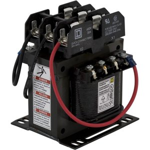 Square D 9070TF150D1 Control Transformer, 150VA, 240/480x24, Type TF, 1PH, Open