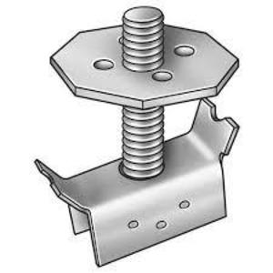 "Grating Fasteners SSGM-1/2X3 Grating Fastener, 1/2 x 3"" Threaded Stud, Stainless Steel"