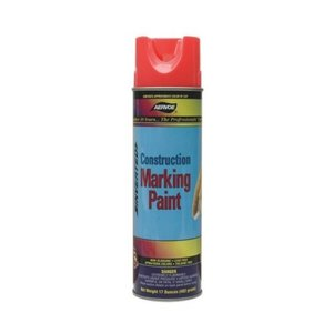 Dottie 256 Red Construction Marking Paint, 20 oz,  Aerosol