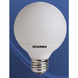 SYLVANIA CF10ELG25827 Compact Fluorescent Lamp, G25, 10W, 2700K