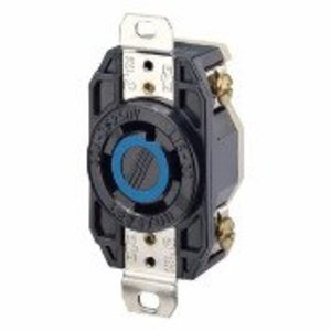 Leviton 2720 Locking Receptacle, 30A, 3PH 250V, L15-30R, 3P4W