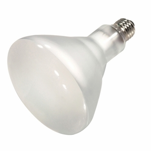 Satco S4516 65 watt; Halogen; BR40; Frosted; 2000 Average rated Hours; 920 Lumens; Medium base; 120 volts
