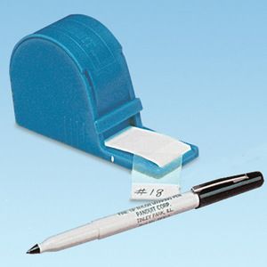 Panduit S100X125VARY Self-Lam dispenser w/pen, Vinyl,  1.00""