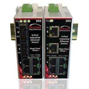 Sixnet SLX-6RS-4SC-D1 SIX SLX-6RS-4SC-D1 6 PORTS RING 4