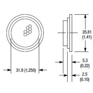 Allen-Bradley 92-47 AB 92-47 REFLECTORS FOR