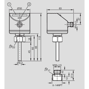 IFM Electronic SI8503 EFE SI8503 FLOW SENS/ADAPT