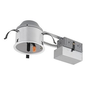 "Juno Lighting IC1RALED-G4-06LM-120-FRPC 4"" LED, Recessed, Adjustable Remodel, IC 600 Lumen"