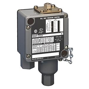 Allen-Bradley 836T-T302J Pressure Switch, 200-3000 Operating Range, 175-400 Differential