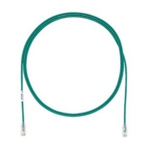 Panduit UTP28SP7GRNL/N CAT 6 Patch Cord, 28 AWG, 7 Feet, Green, No QC Labels