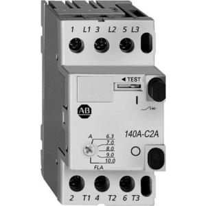 Allen-Bradley 140A-C2A-B40 Starter, Manual, 3P, 4.0A, 690VAC, Push Button