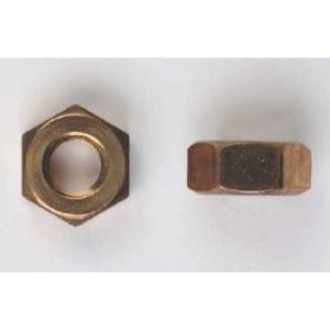 """Bizline G3816HNSB Hex Nut, 3/8"""", Silicone Bronze, 100/PK"""