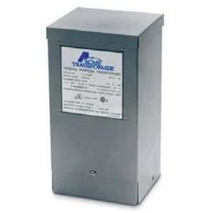 Acme T253010S Transformer, 1KVA, 1P, 240/480V, 120/240V, Isolation