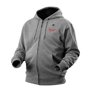 Milwaukee 2372-XL M12 Gray Heated Hoodie XL