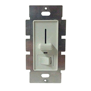 American Lighting AL-PWM-6A Slide Dimmer, 12-24VDC, White